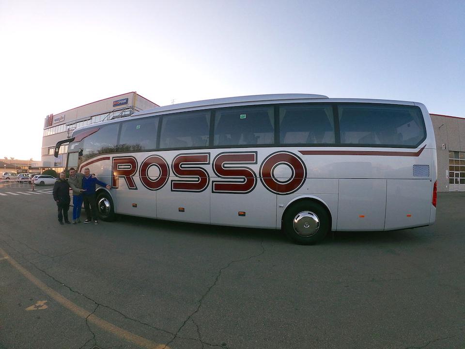 Consegna MERCEDES febbraio 2020 a ROSSO