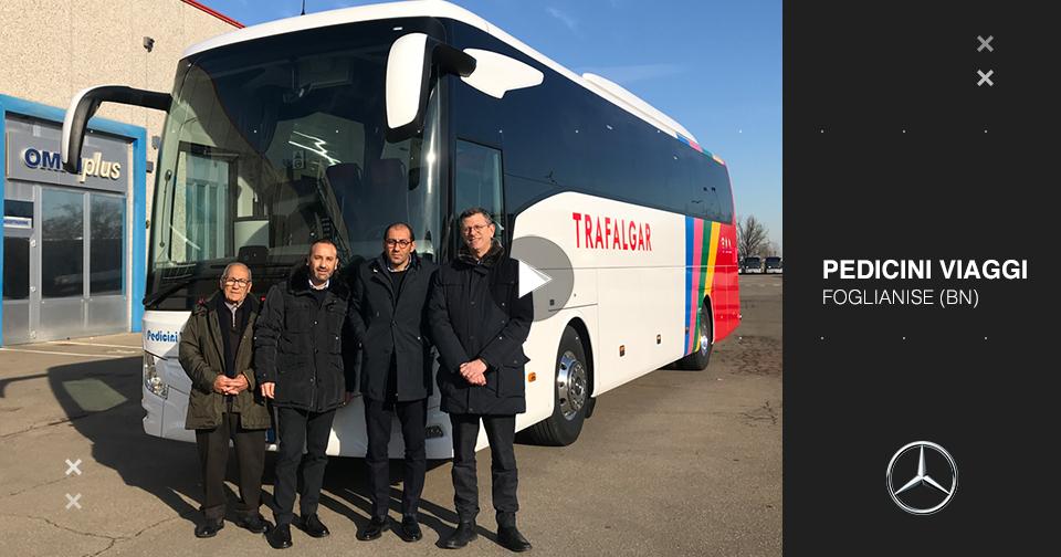 Consegna Mercedes-Benz Tourismo 2020 a Pedicini Viaggi
