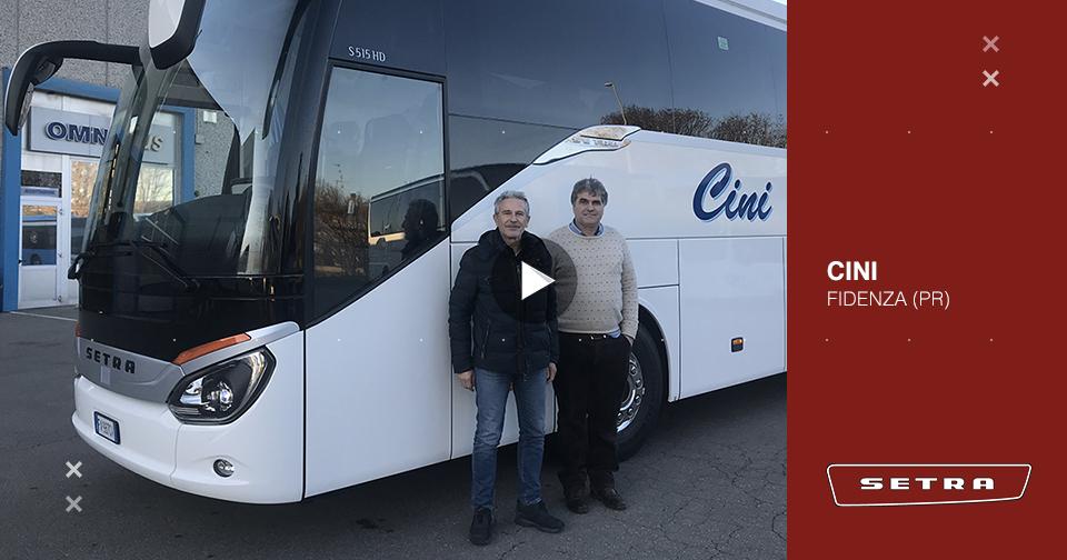 Consegna SETRA marzo 2020 a CINI