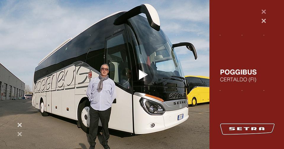 Consegna SETRA marzo 2020 a POGGIBUS