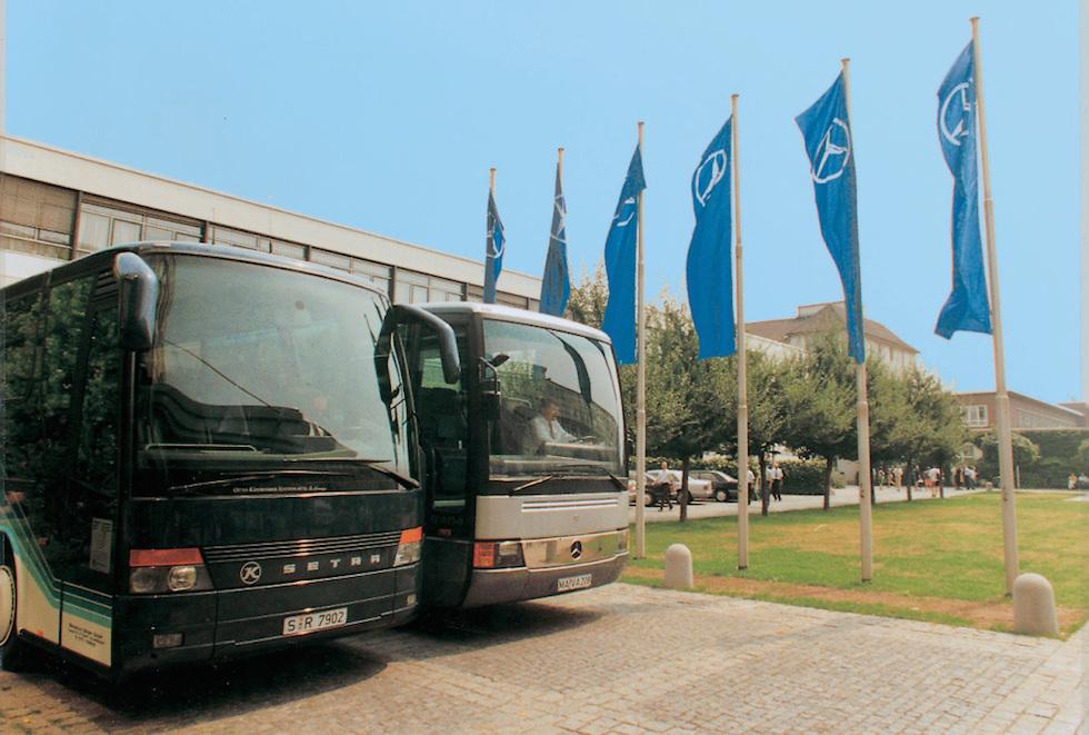 Mercedes-Benz e Setra 25 anni di alleanza