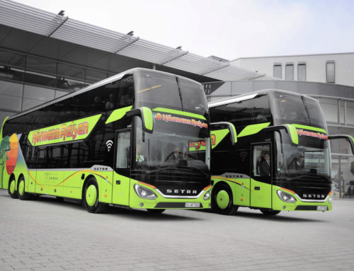 Setra DT: lussuoso confort a 2 piani