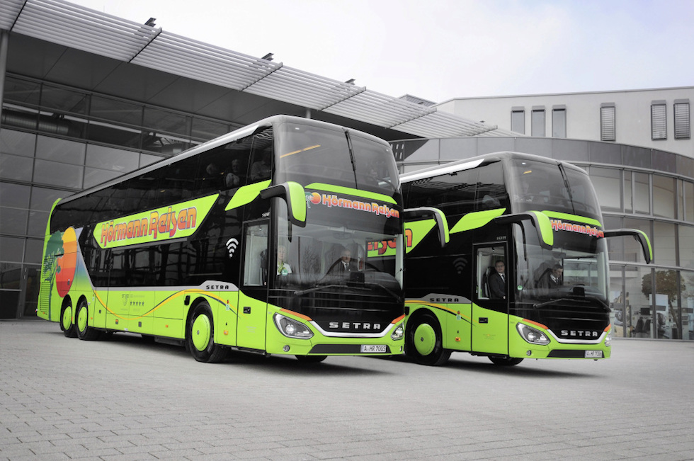 Setra S 531 DT consegne 2020 in Gremania