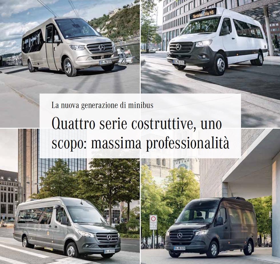 Sprinter MercedesBenz da rivista OMNIbus 1/2020