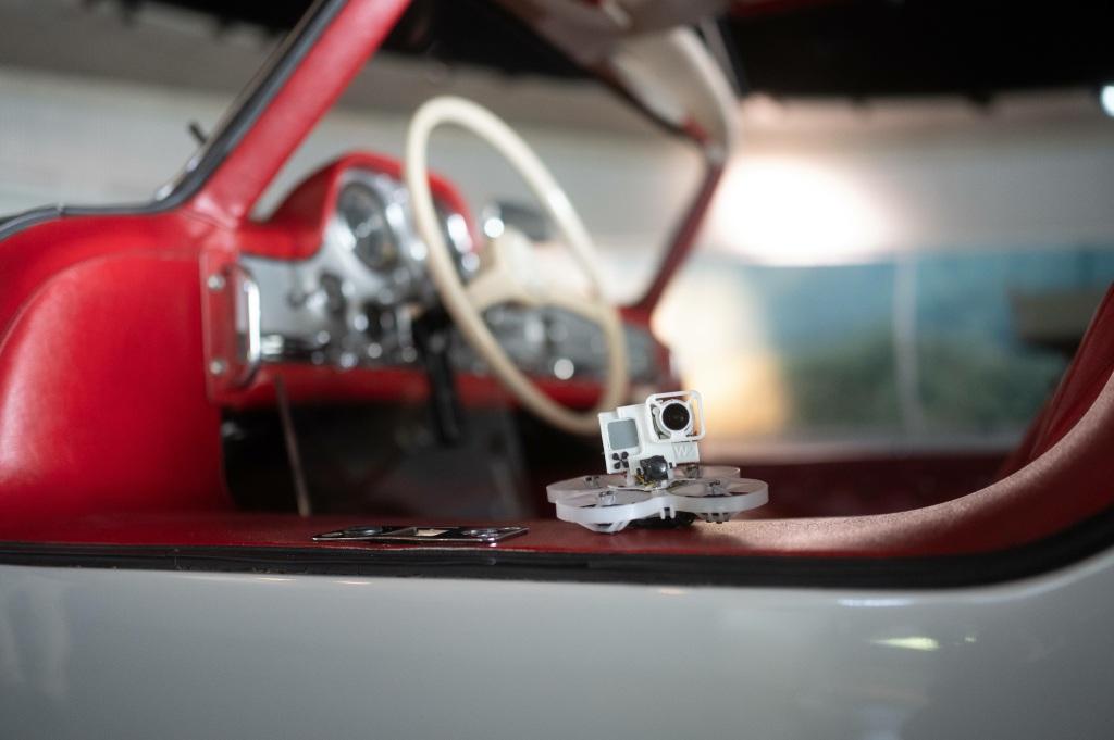 Video drone al Museo Mercedes-Benz