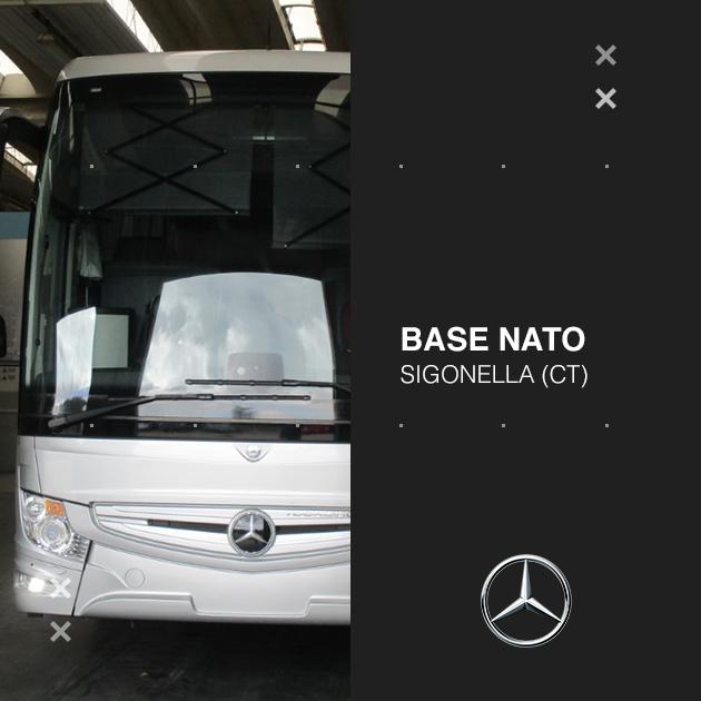 Consegna Mercedes-Benz 2020 a Base Nato Sigonella