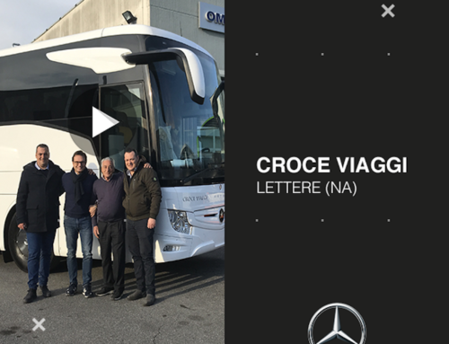 Tourismo Mercedes-Benz per CROCE VIAGGI (video)