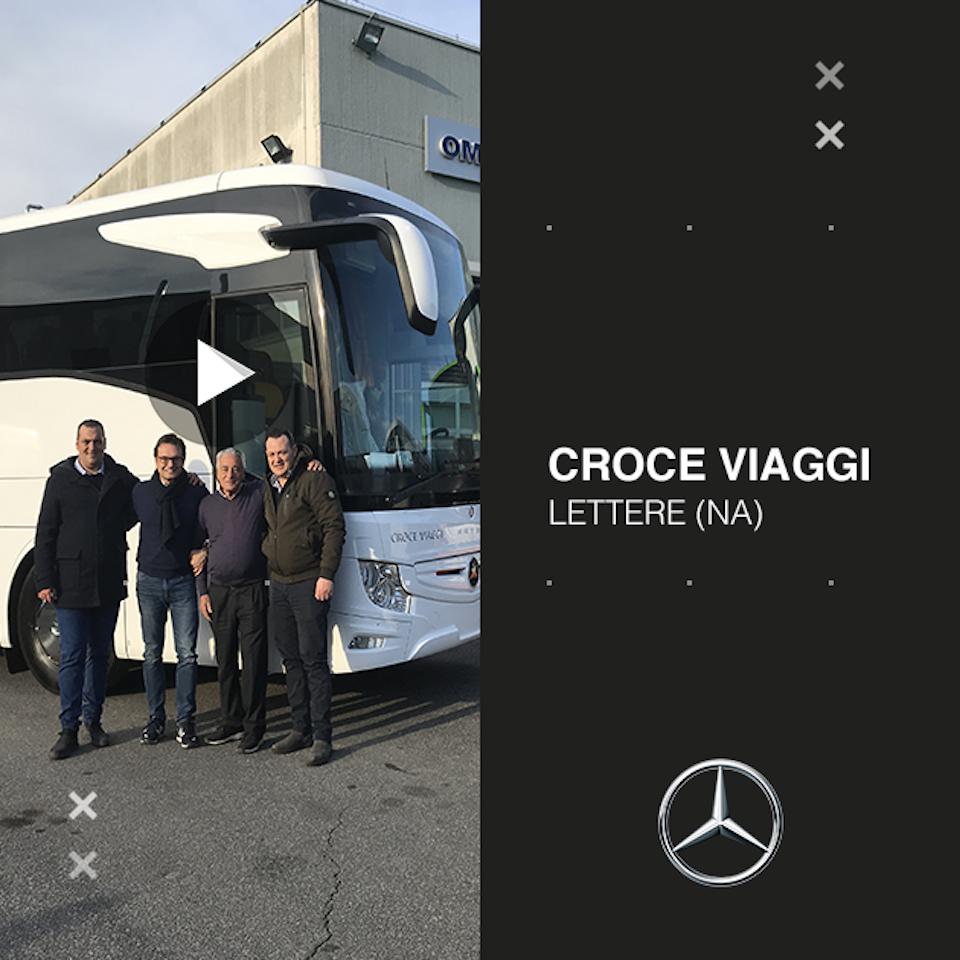 Consegna Mercedes-Benz 2020 a Croce Viaggi
