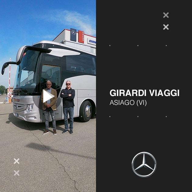 Consegna Mercedes-Benz 2020 a Girardi Viaggi