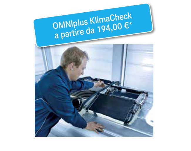 Pacchetto OMNIplus Klima Check