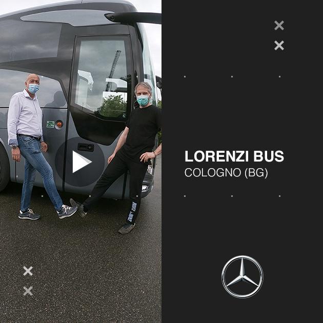 Consegna Mercedes-Benz 2020 a Lorenzi Bus