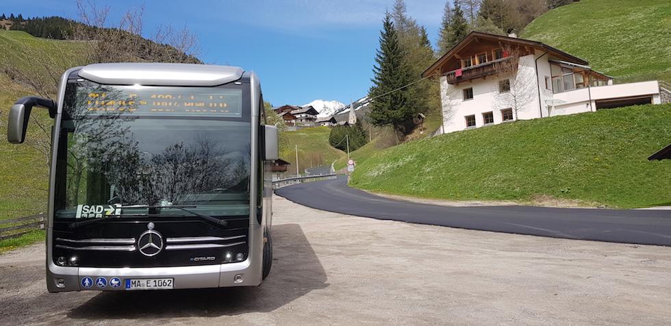 Test Io Lo Provo a Bolzano eCitaro per SAD