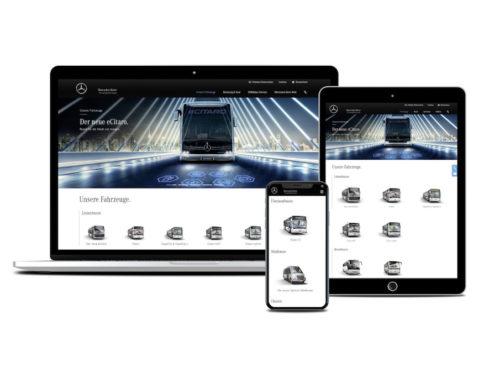 Mercedes-Benz Buses: il sito web conquista numerosi importanti riconoscimenti