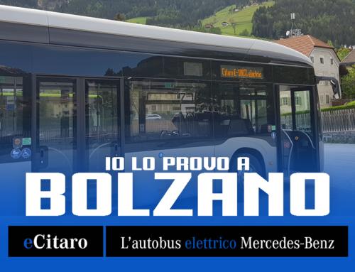 eCitaro: io lo provo a Bolzano