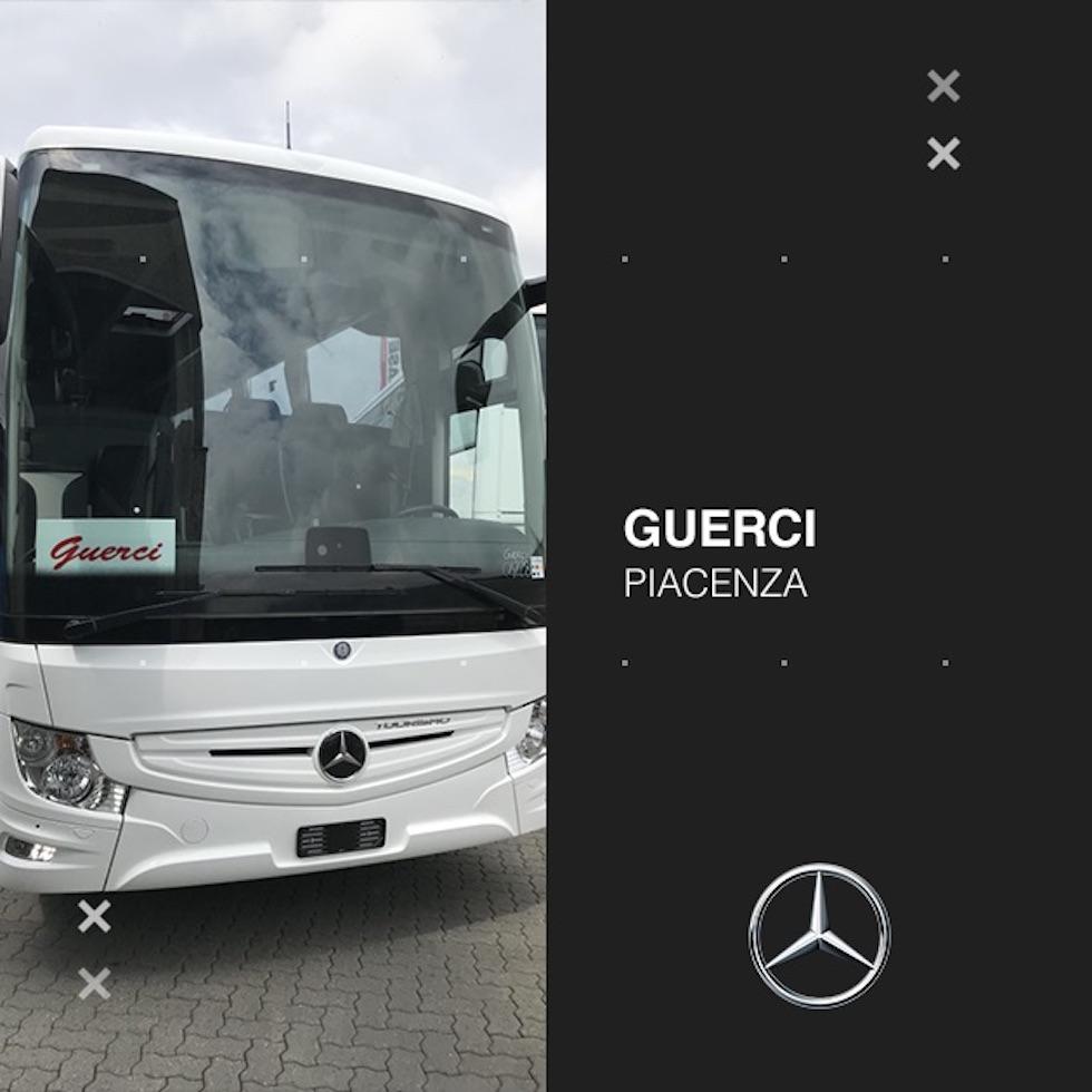Consegna 2020 Tourismo Mercedes-Benz a Guerci