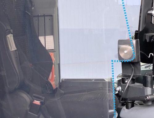 Installazione pareti divisorie su Setra S 415 UL Business