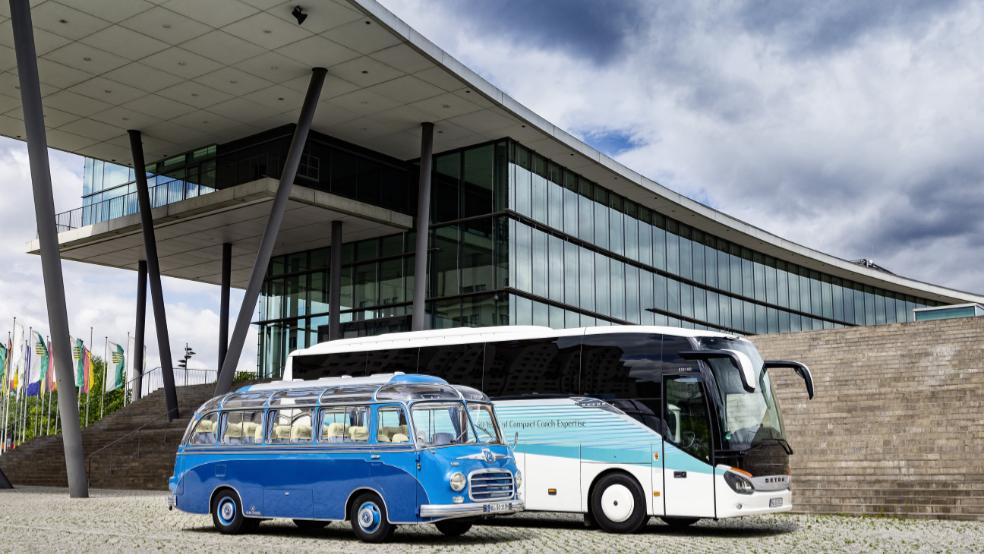 65 anni di Setra club bus