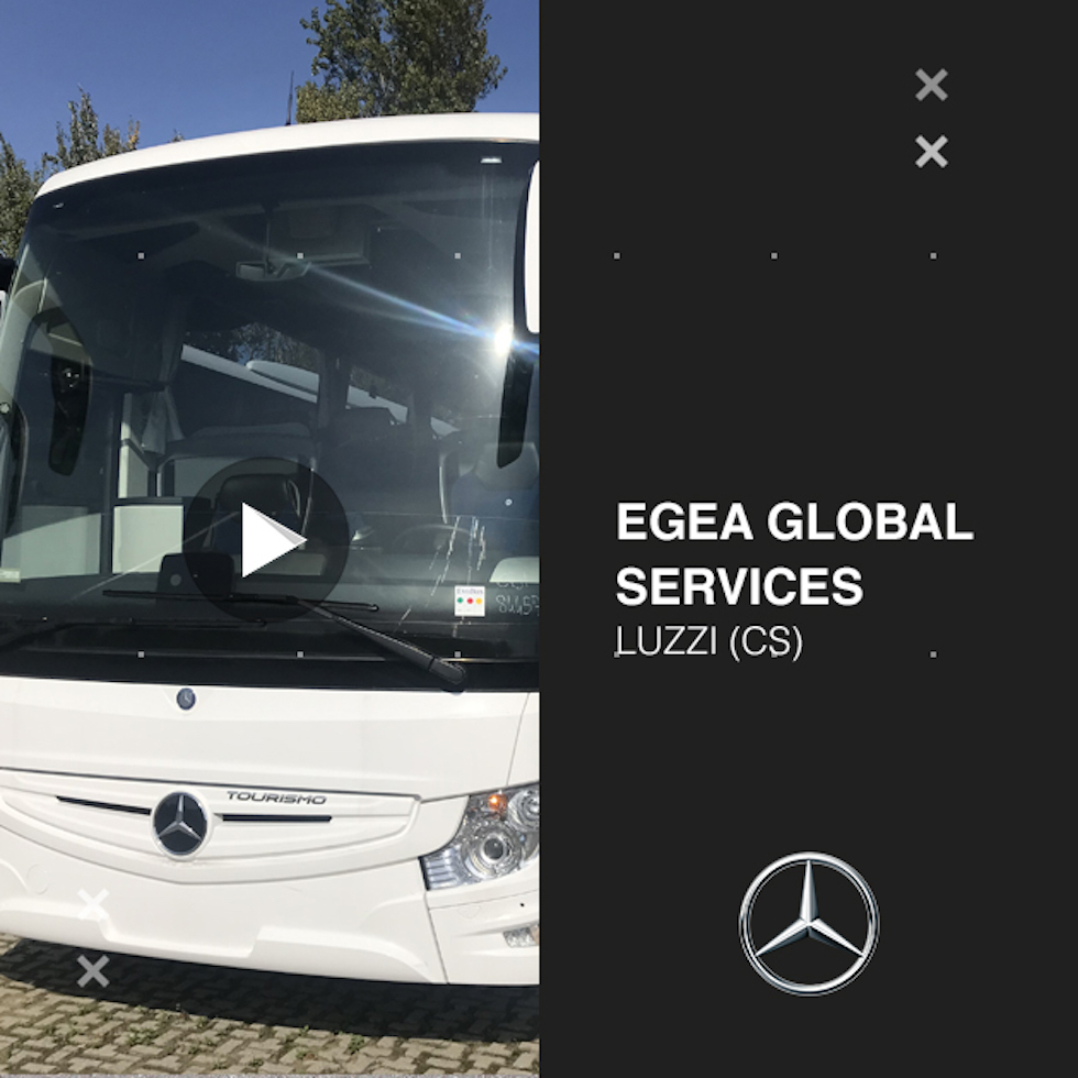 Consegna Mercedes Bens 2020 a Egea global Services