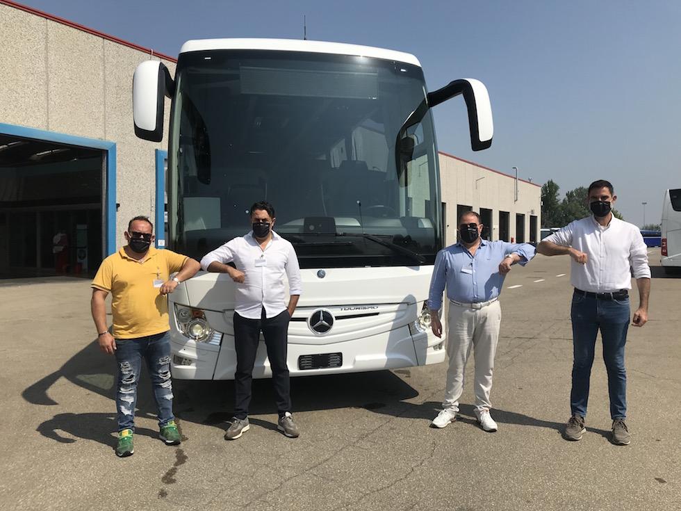 Consegna Mercedes Bens 2020 a Egea global Services