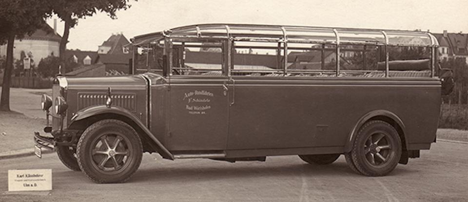 Setra autobus anni venti