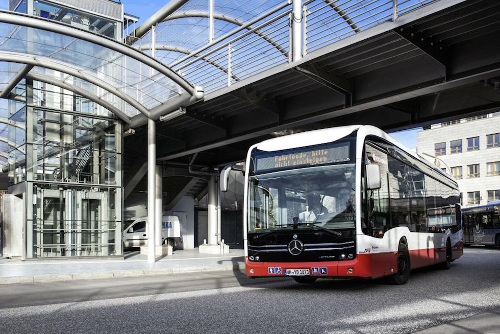 eGitaro G Mercedes ad Amburgo