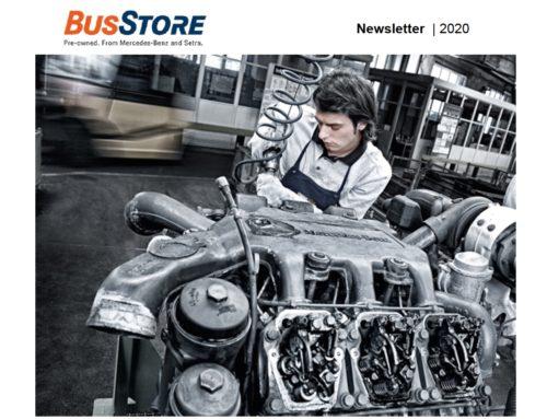 Tieni d'occhio le opportunità degli usati con la newsletter BusStore