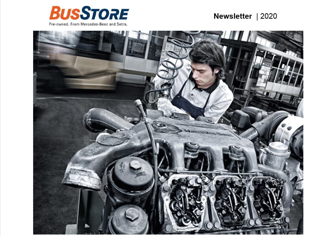 BusStore Newsletter