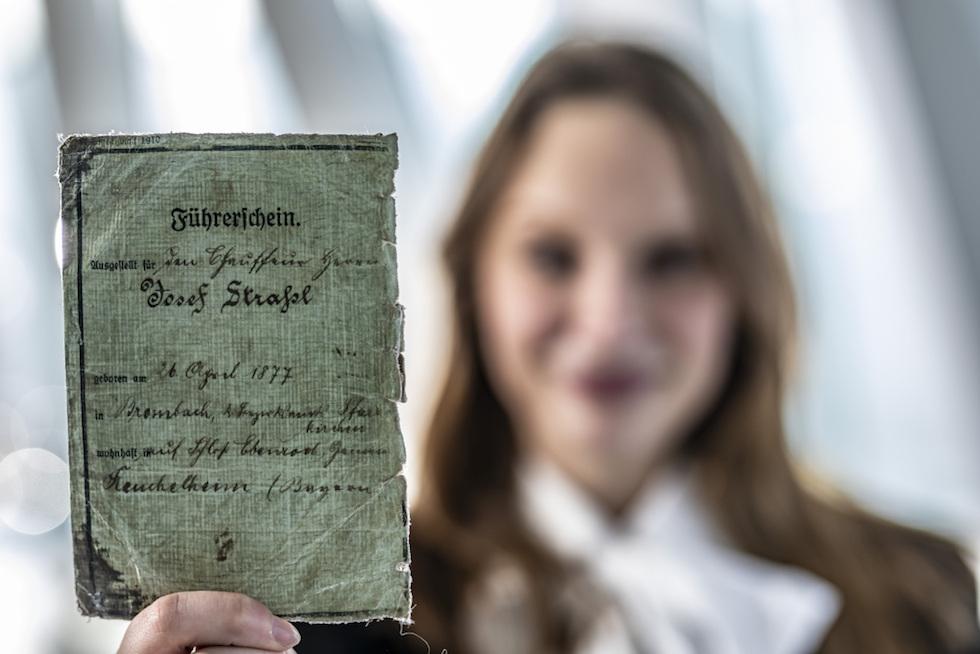Patente di guida Museo Mercedes
