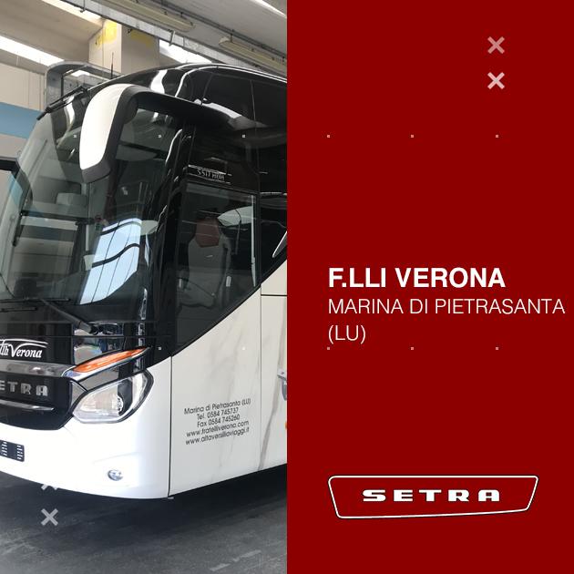 Consegna Setra 2020 a F.lli Verona