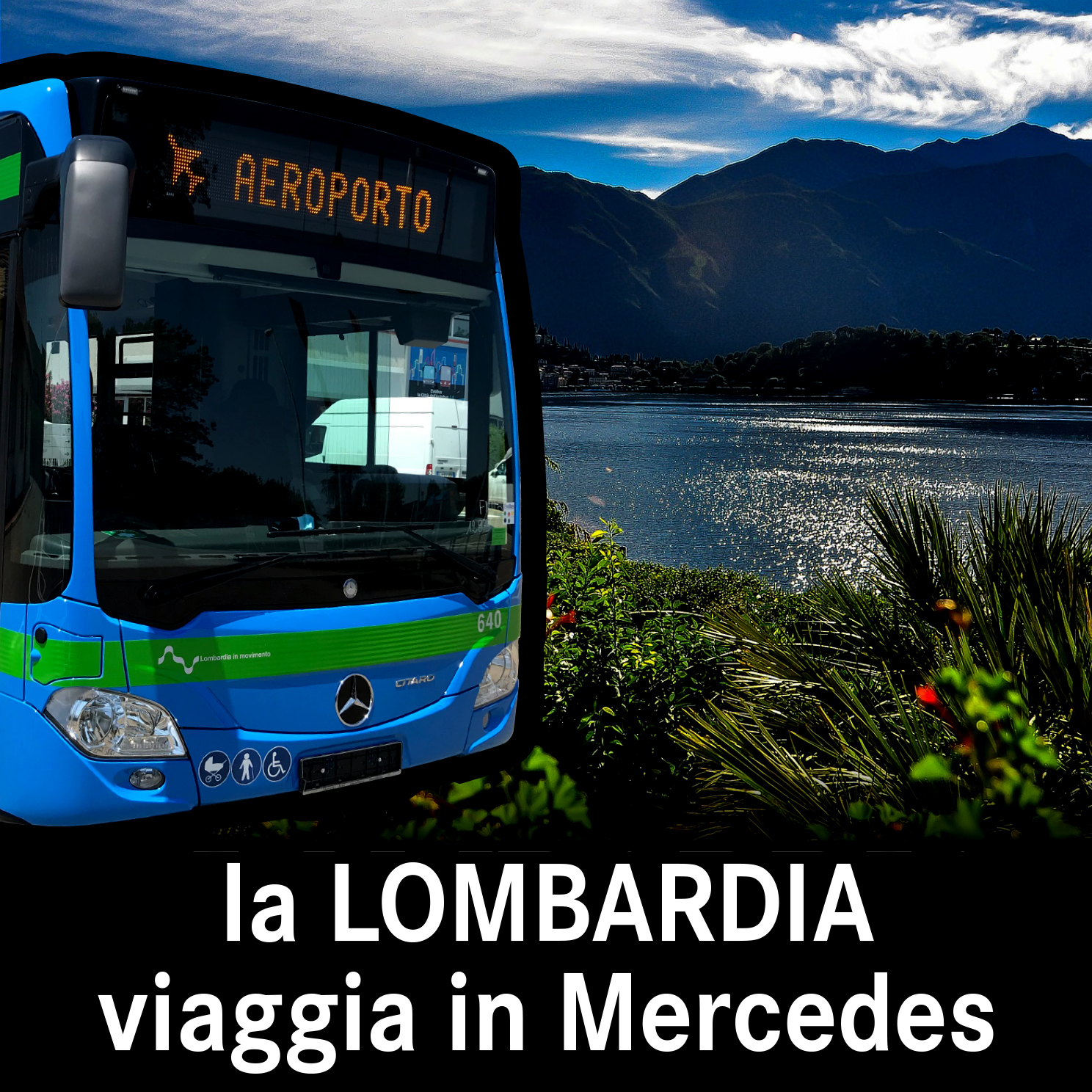 In Lombardia si viaggia in Mercedes