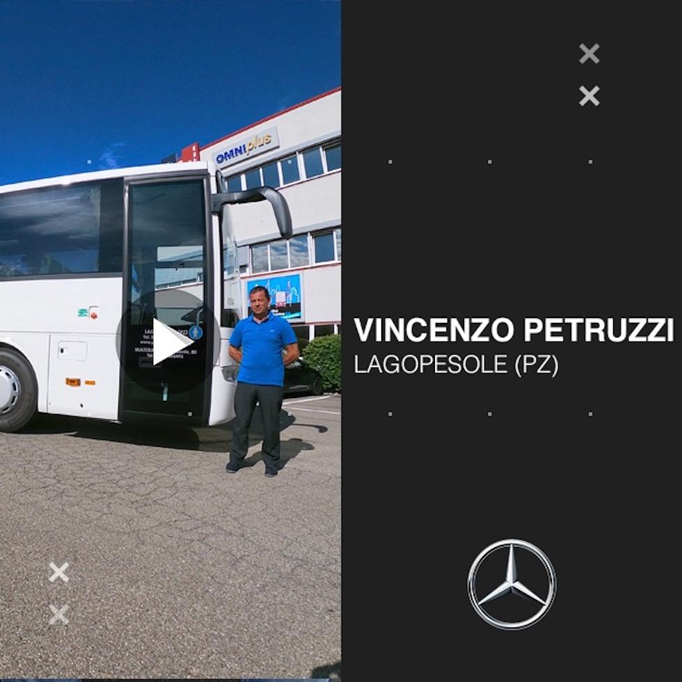 Consegna Mercedes 2020 a Petruzzi