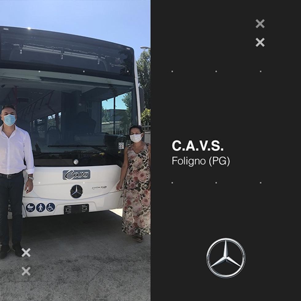 Consegna Mercedes-Benz 2020 a CAVS
