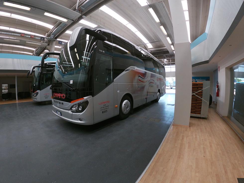 Consegna Setra 2020 a Lopriano Viaggi