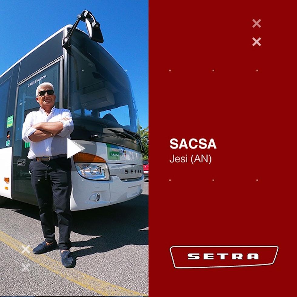 Consegna Setra 2020 a Sacsa