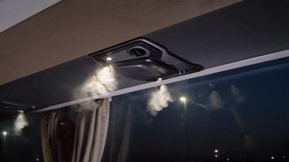 video climatizzazione e ricambio d'aria su Tourismo Mercedes-benz
