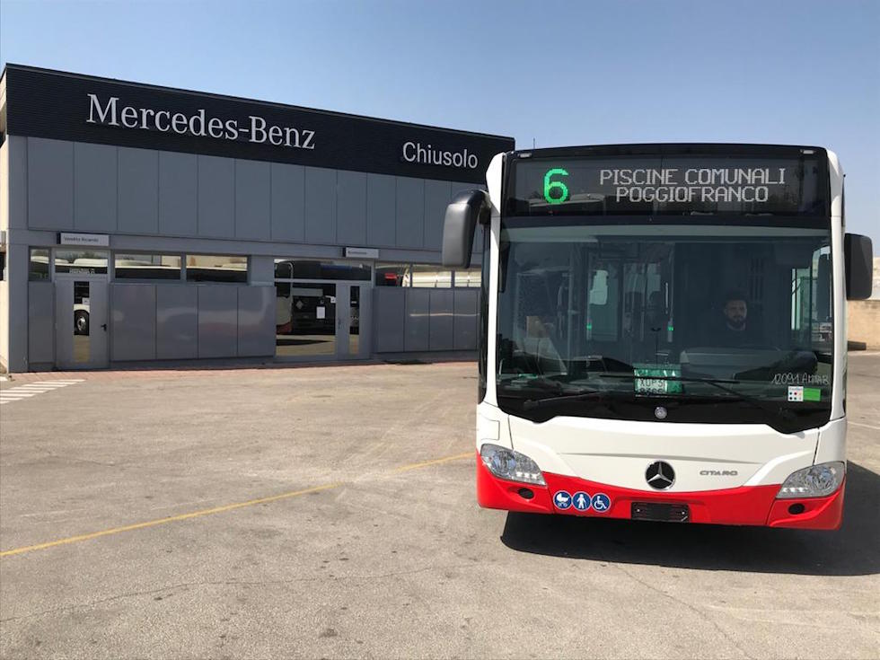 A Bari si viaggia in Mercedes