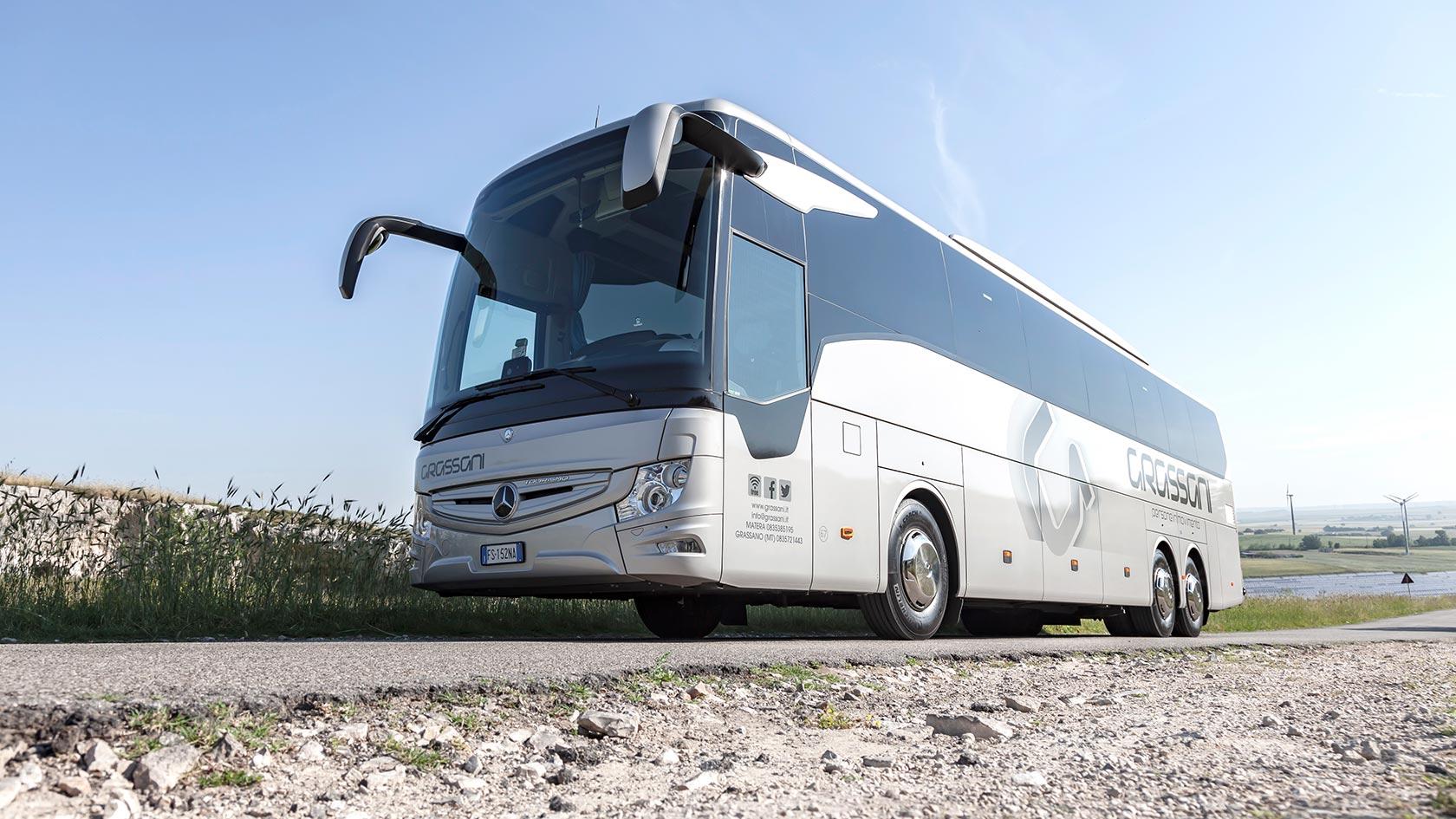 Itinerario murge Grassani Mercedes-Benz