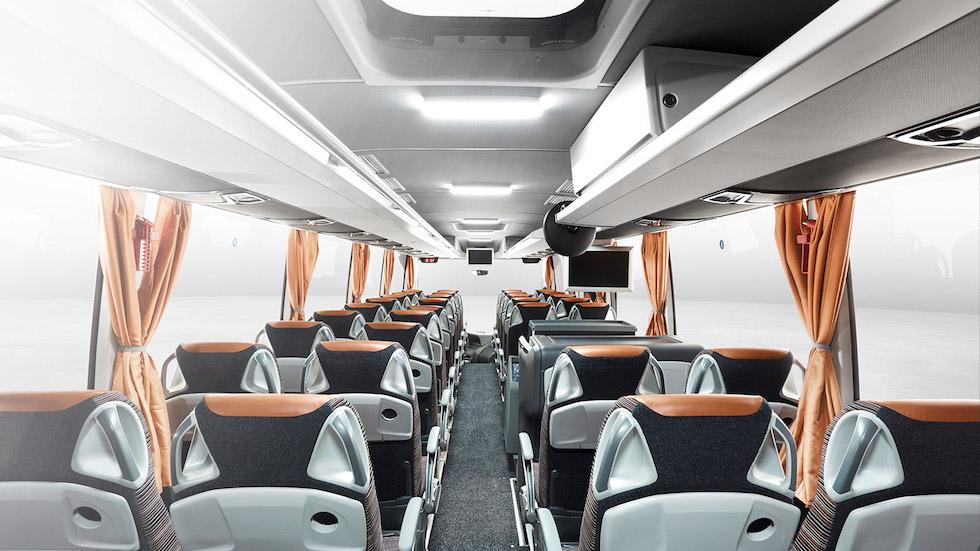 Climatizzazione autobus daimler e covid