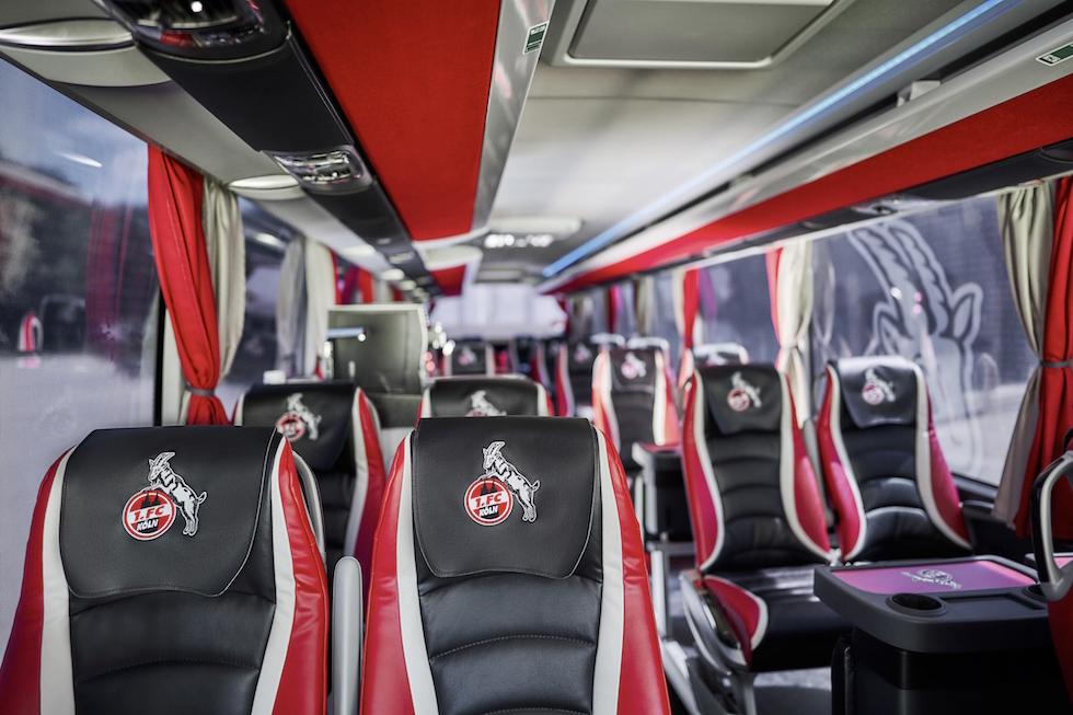 Autobus Setra al Colonia FC