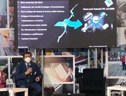 """IBE 2020: intervento di Andrea Codecasa al convegno """"Autobus elettrici: sceglierli oggi per la mobilità del futuro"""""""