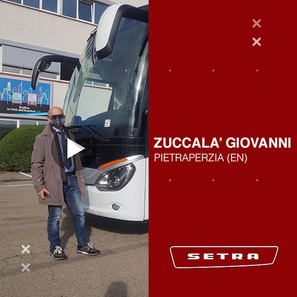 Consegna Setra 2020 a Zuccala'