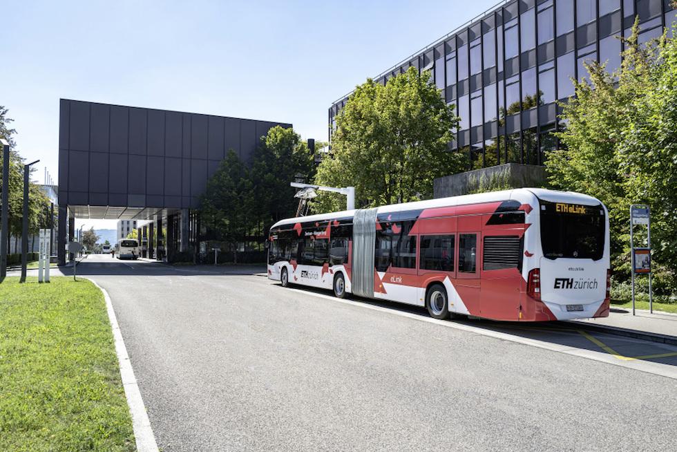 eCitaro G Mercedes-Benz a Zurigo