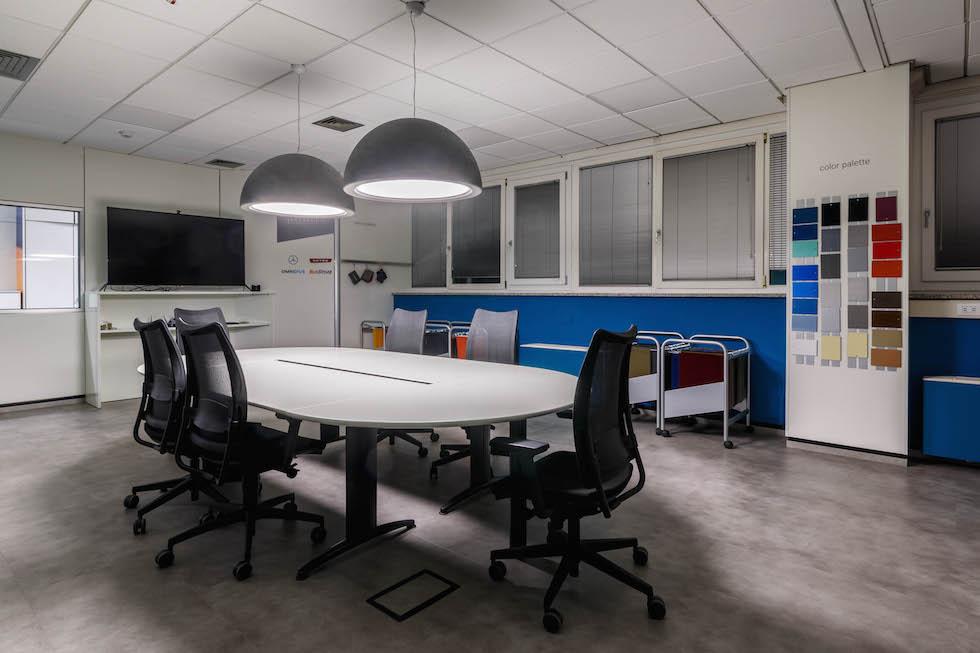 Nuova sala configurazioni EvoBus