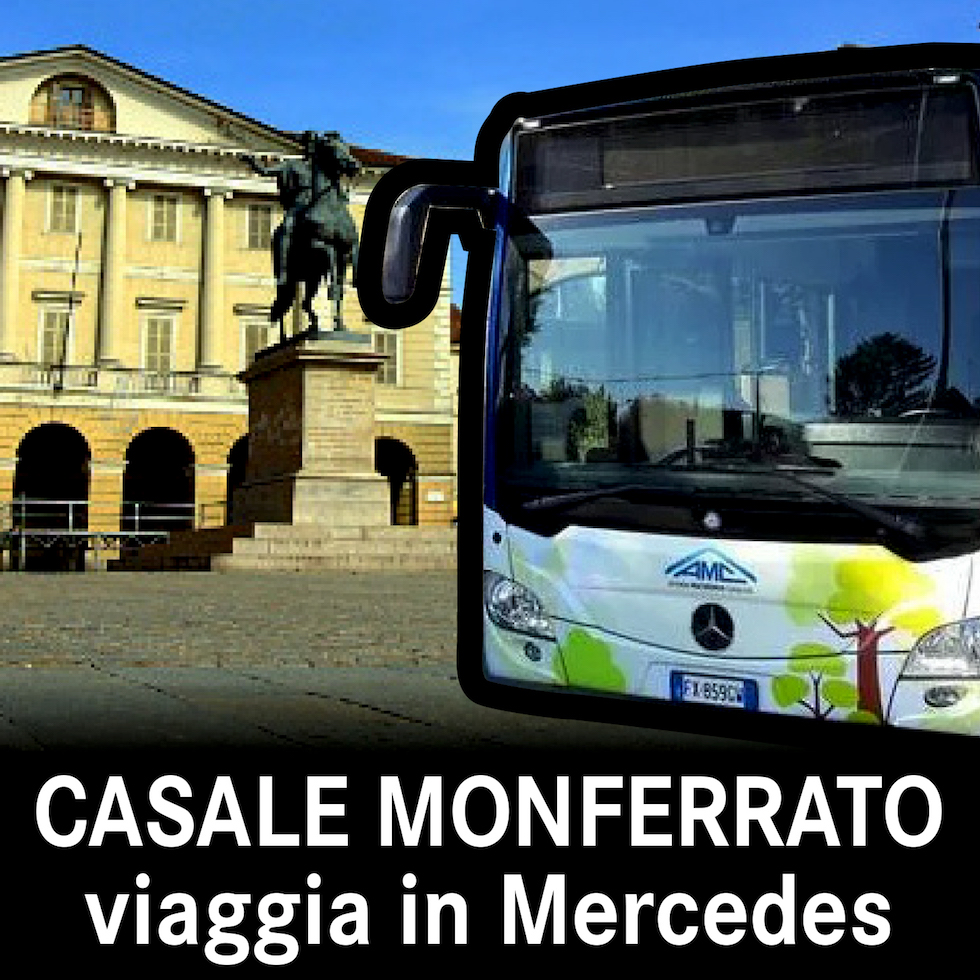 A Casale Monferrato si viaggia in Mercedes