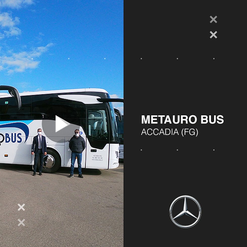 Consegna Mercedes-Benz 2020 a Metauro Bus