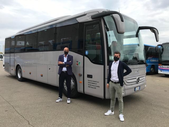 Consegna Mercedes-Benz 2020 a Zambetti