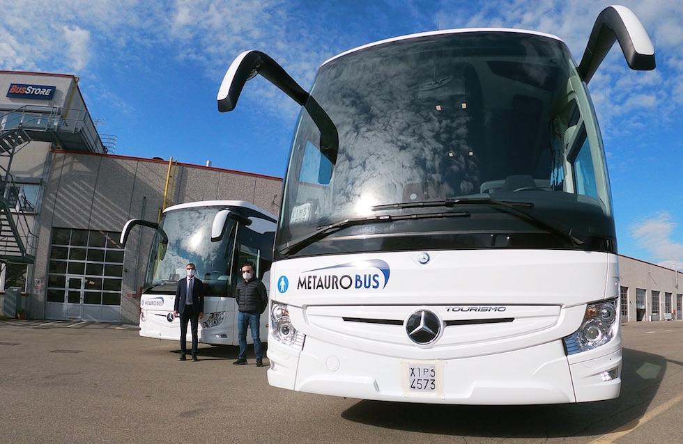 Consegna Mercedes-Benz 2020 a Metauro Bus