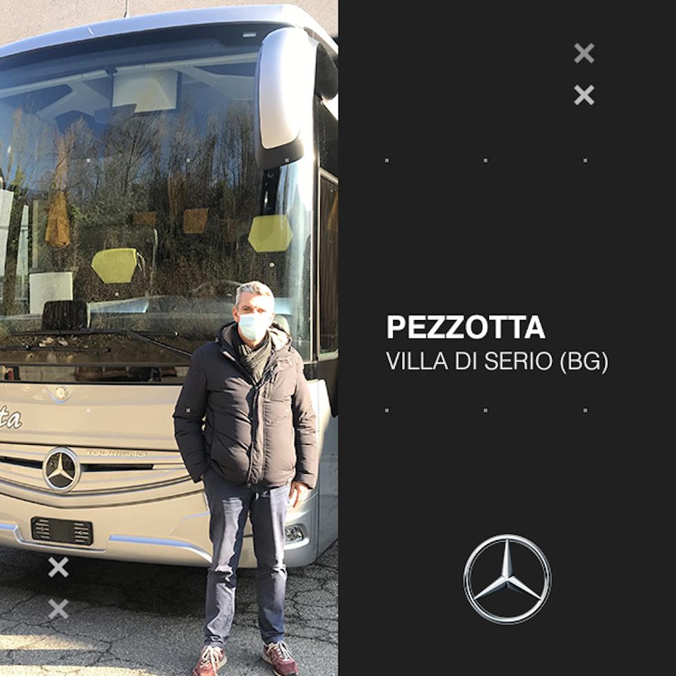 Consegna Mercedes-Benz 2020 a Pezzotta