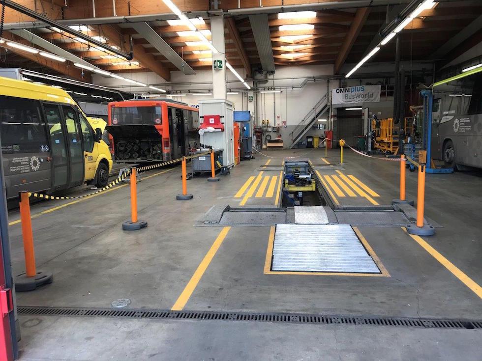 Pista metrica OMNIplus Busworld Home Bressanone
