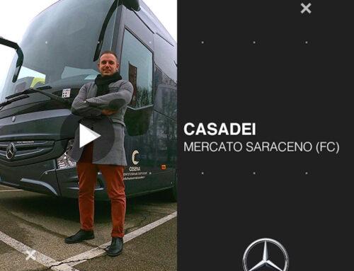 Nuova consegna: AUTOSERVIZI CASADEI (video)